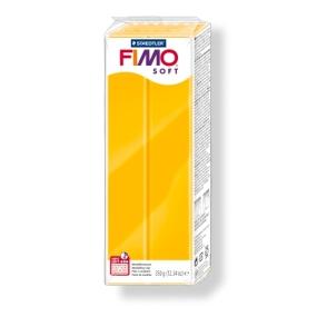 FIMO soft č. 16 žlutá 350g