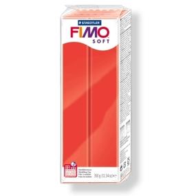 FIMO soft č. 24 červená 350g