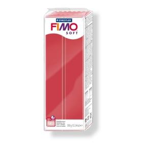 FIMO soft č. 26 tmavě červená 350g