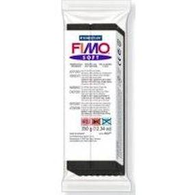 FIMO soft č. 9 černá 350g