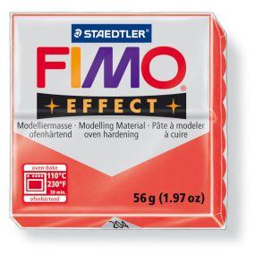 FIMO effect č. 204 transparentní červená 57g