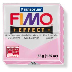 FIMO effect č. 205 pastel růžová růže 57g
