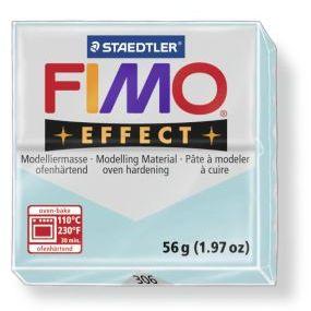 FIMO effect č. 306 namodralý křemen 56g - !!starší balení!!, sleva 50 %