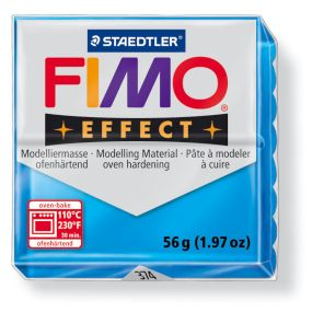 FIMO effect č. 374 transparentní modrá 57g