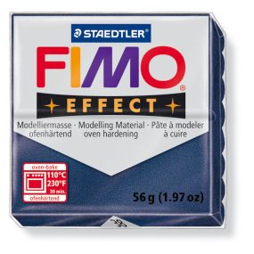 FIMO effect č. 38 metalická safírová 57g