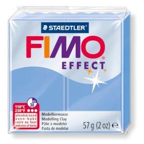FIMO effect č. 386 modrý achát 56g - !!starší balení!!, sleva 50 %