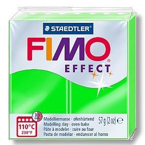 FIMO NEON zelená 57g