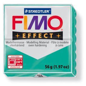 FIMO effect č. 504 transparentní zelená 56g - !!starší balení!!, sleva 50 %