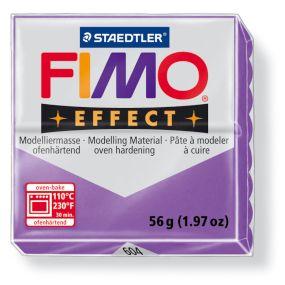 FIMO effect č. 604 transparentní fialová 56g - !!starší balení!!, sleva 50 %