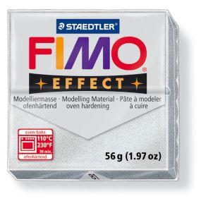 FIMO effect č. 81 metalická stříbrná 57g
