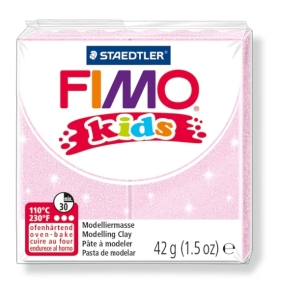 FIMO kids č. 206 perleťová růžová 42g