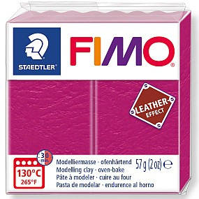FIMO Leather malinová 57g