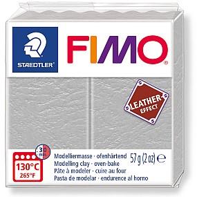FIMO Leather holubí šedá 57g
