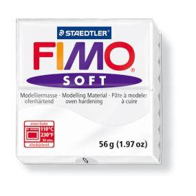 FIMO soft č. 0 bílá 57g