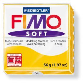 FIMO soft č. 16 okrová 57g
