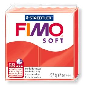 FIMO soft č. 24 červená 57g