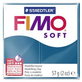 FIMO soft č. 31 modrá calypso 57g