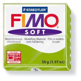 FIMO soft č. 50 světle zelená 57g