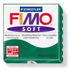 FIMO soft č. 56 tmavě zelená 57g