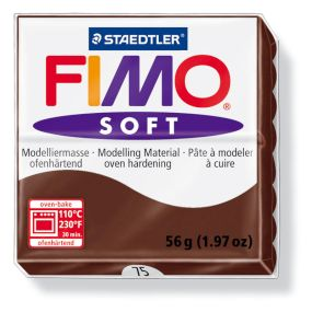 FIMO soft č. 75 čokoládová 57g