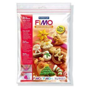 FIMO silikonová forma - Merry Xmas
