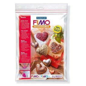 FIMO silikonová forma - Hearts
