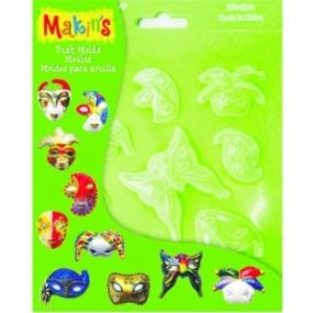 MAKINS vytlačovací formičky - Masky