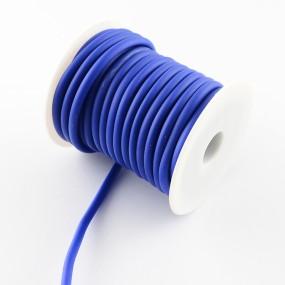 Gumová šňůra nepružná 5mm 1m modrá