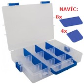 Ideal box modrý 21 přepážek