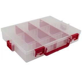 Ideal box červený 9 přepážek