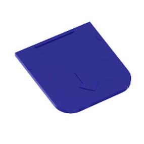 Přihrádka pro Ideal box malá modrá