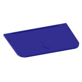 Přihrádka pro Ideal box velká modrá