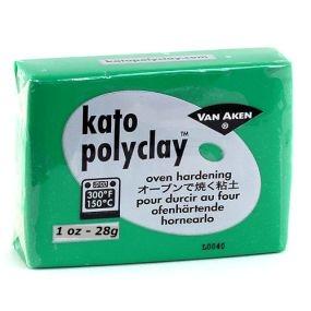 Kato Polyclay 28g zelená