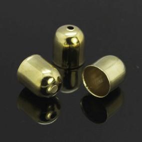 Kaplíky hladké 9x8mm (6ks)