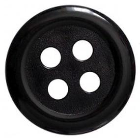 Obří knoflík černý 60mm