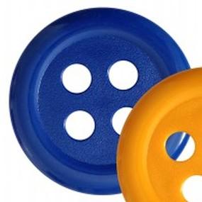 Obří knoflík modrý 60mm