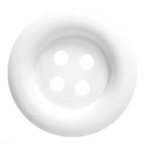 Obří knoflík bílý 70mm