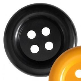 Obří knoflík černý 70mm