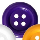 Obří knoflík fialový 70mm