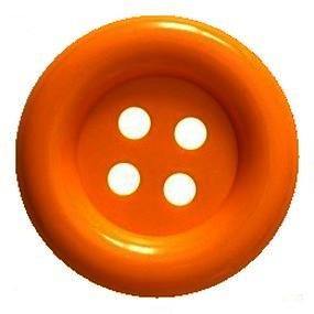 Obří knoflík oranžový 70mm