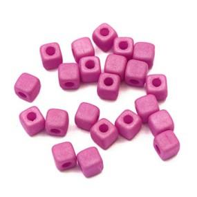 Cubix fialovorůžová matná 25ks