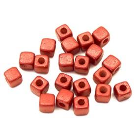 Cubix červená lesklá 25ks