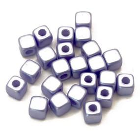 Cubix modrá lesklá 25ks