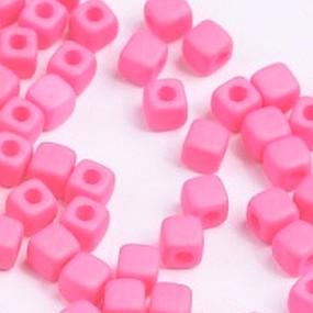 Cubix světle růžová matná 25ks