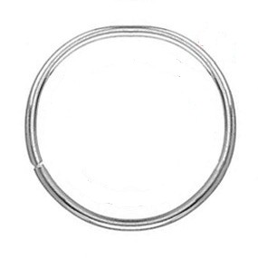 Kovový kruh / obruč na lapač snů 4,5cm