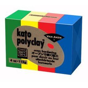 Kato Polyclay - Sada 4 barev - Primary