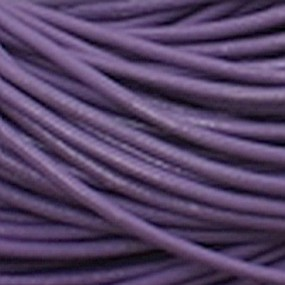 Kůže kulatá 3mm fialová 1m
