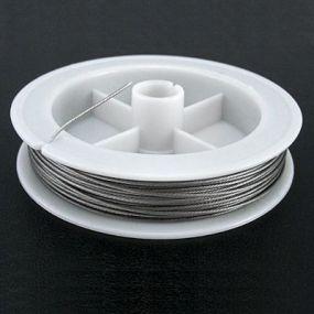Lanko stříbrná b. průměr 0,60 mm délka 40 m