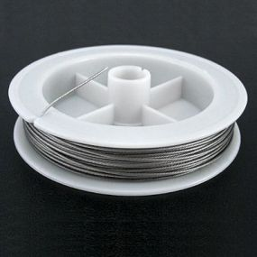 Lanko stříbrná b. průměr 0,80 mm délka 20 m