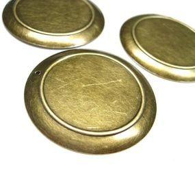 Lůžko kruh starobronz 50mm 1ks